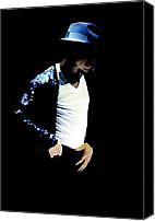The King Canvas Prints - Michael Jackson  Canvas Print by Plamen Petkov