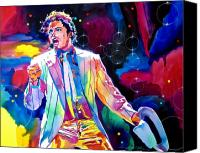 Best Choice Canvas Prints - Michael Jackson Smooth Criminal Canvas Print by David Lloyd Glover
