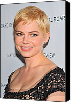Michelle Canvas Prints - Michelle Williams At Arrivals For The Canvas Print by Everett