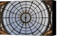 Shopping Canvas Prints - Milan Galleria Vittorio Emanuele II Canvas Print by Joana Kruse