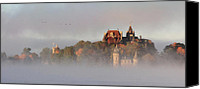 St Lawrence River Canvas Prints - Morning has Broken Canvas Print by Lori Deiter