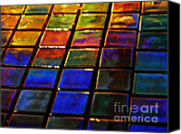 Mosaic Canvas Prints - Mosaic 13 Canvas Print by Sarah Loft
