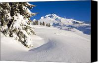 Mountain Scenes Canvas Prints - Mount Hood, Oregon, United States Of Canvas Print by Craig Tuttle
