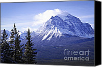 Snowy Canvas Prints - Mountain landscape Canvas Print by Elena Elisseeva