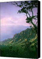Kalalau Canvas Prints - Na Pali Coast Canvas Print by Greg Vaughn - Printscapes