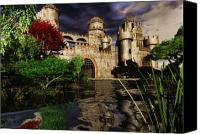 Camelot Canvas Prints - Natalies Castle Canvas Print by Steven Palmer