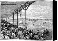 New York Mets Canvas Prints - New York: Baseball, 1886 Canvas Print by Granger