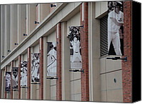 Shea Stadium Canvas Prints - NEW YORK METS of OLD Canvas Print by Rob Hans