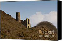 Kernow Canvas Prints - Old Engine House Canvas Print by Brian Roscorla