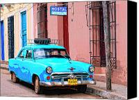 Havana Daydreams Canvas Prints - Old Faithful Canvas Print by Dominic Piperata
