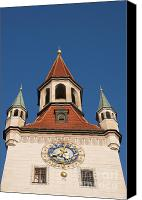 Rathaus Photo Canvas Prints - Old Town Hall  Canvas Print by Andrew  Michael