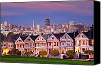 Painted Ladies Canvas Prints - Painted Ladies Canvas Print by Brian Jannsen