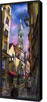 Pastel Canvas Prints - Paris Montmartre  Canvas Print by Yuriy  Shevchuk