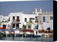 Cruise Photo Canvas Prints - Paros  Canvas Print by Jane Rix