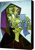 Scarf Photo Canvas Prints - Picasso: Guernica Canvas Print by Granger