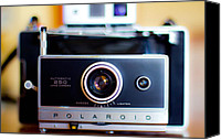 Polaroid Camera Canvas Prints - Polaroid  Canvas Print by Pam Kennedy