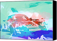 Racing Car Canvas Prints - Porsche 911  Canvas Print by Irina  March