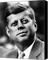 Camelot Canvas Prints - President Kennedy Canvas Print by War Is Hell Store