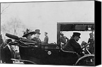 First Ladies Canvas Prints - President William Taft 1857-1930 Canvas Print by Everett