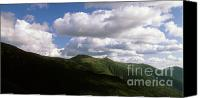 White Mountains Canvas Prints - Presidential Range - White Mountains New Hampshire USA Canvas Print by Erin Paul Donovan