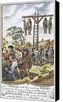 Martyrs Canvas Prints - Protestant Martyrs, 1563 Canvas Print by Granger
