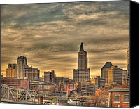 Providence Canvas Prints - Providence Canvas Print by Jerri Moon Cantone