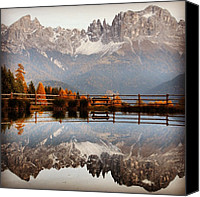 Bestoftheday Canvas Prints - Reflections Canvas Print by Luisa Azzolini