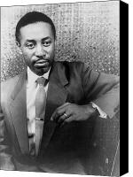 Black Tie Canvas Prints - Robert Mcferrin (1921-2006) Canvas Print by Granger
