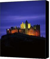 Monasticism Canvas Prints - Rock Of Cashel, Co Tipperary, Ireland Canvas Print by The Irish Image Collection
