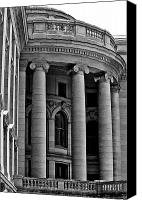 Statehouse Canvas Prints - Rounded Corner Canvas Print by Christi Kraft
