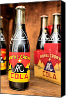 Bottles Canvas Prints - Royal Crown Canvas Print by JC Findley