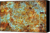 Derelict Canvas Prints - Rust Colors Canvas Print by Carlos Caetano