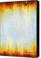 Panel Canvas Prints - Rusty background Canvas Print by Carlos Caetano