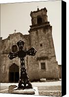 San Antonio Canvas Prints - San Antonio Canvas Print by Sebastian Musial