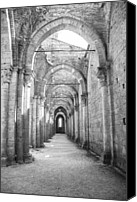 Hulk Canvas Prints - San Galgano Abbey Canvas Print by Ralf Kaiser
