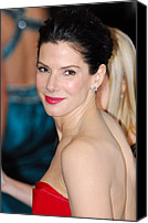Academy Awards Oscars Canvas Prints - Sandra Bullock At Arrivals For The 83rd Canvas Print by Everett