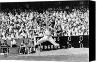 Orioles Stadium Canvas Prints - Sandy Koufax (1935- ) Canvas Print by Granger