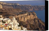 Thira Canvas Prints - Santorini Canvas Print by Brian Jannsen