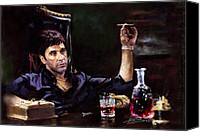 Star Canvas Prints - Scarface Canvas Print by Ylli Haruni