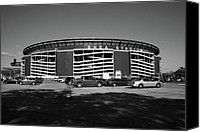 Ballpark Canvas Prints - Shea Stadium - New York Mets Canvas Print by Frank Romeo