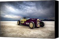 Hot Rod Car Canvas Prints - Speed Week photography and Images by Holly Martin Canvas Print by Holly Martin