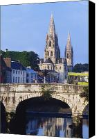 Corks Canvas Prints - St. Finbarres Cathedral, Cork, Co Cork Canvas Print by The Irish Image Collection 