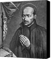 Ignatius Canvas Prints - St. Ignatius Loyola Canvas Print by Granger