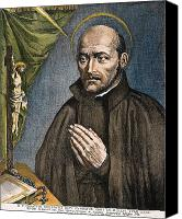 Loyola Canvas Prints - St. Ignatius Of Loyola Canvas Print by Granger