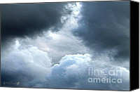 Storm Prints Canvas Prints - Storm Clouds Canvas Print by J McCombie