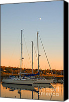 Sailboat Canvas Prints - Sunday Afternoon Canvas Print by Joann Vitali