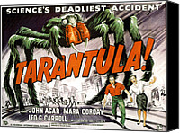 1955 Movies Canvas Prints - Tarantula, Bottom From Left John Agar Canvas Print by Everett