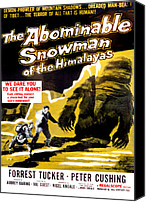 1950s Movies Canvas Prints - The Abominable Snowman, Aka The Canvas Print by Everett