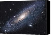 Luminous Canvas Prints - The Andromeda Galaxy Canvas Print by Robert Gendler