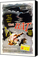 1959 Movies Canvas Prints - The Bat, Vincent Price, 1959 Canvas Print by Everett